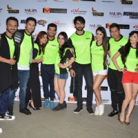Promotions of Team Mumbai Tigers at Edward Maya Concert