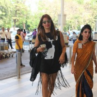 Bipasha Basu Snapped at Airport