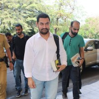 Aamir Khan Snapped at Airport