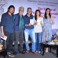 Homi Adajania, Twinkle Khanna and Naseeruddin Shah at Launch of Kersi Khambatta's Book