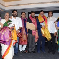 Mohanlal and Chiranjeevi at Launch of Shatrughan Sinha's Book 'Anything but Khamosh'