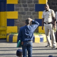 Sanjay Dutt Salutes National Flag as soon as he leaves Yerwada Jail
