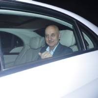 Anupam Kher at Dr. Agarwal's Daughter's Wedding