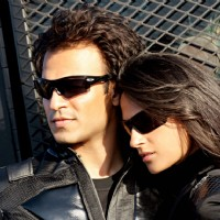 Vivek Oberoi and Aruna Shields in full black | Prince Photo Gallery