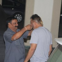 Celebs Meet Sanjay Dutt at his Residence!