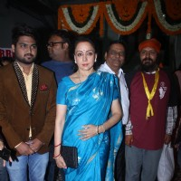 Hema Malini poses for the media at a Classical Music Concert