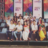 Mumbai Tigers Team at the Curtain Raiser Shoot
