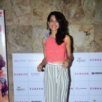 Sarah Jane Dias at Special Screening of 'Zubaan'