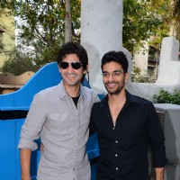 Gaurav Kapoor and Angad Bedi at Launch of Maria Goretti's Book 'From my kitchen to yours'