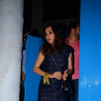 Mini Mathur and Kabir Khan at Snapped at Olive