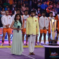 Tanisha at Prokabbadi match