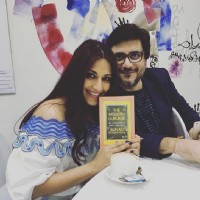 Sonali Bendre and Goldie Behl at Launch of 'The Modern Gurukul'