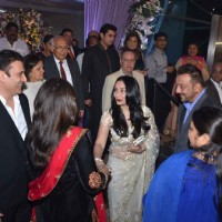 Sanjay Dutt and Manyata Dutt at Kresha Bajaj's Wedding