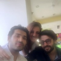 Mrunal Jain , Munisha Khatwani and Shashank Vyas at NGO Dilkhush