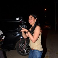 Manyata Dutt got snappy with media at Rajkumar Hirani's dinner