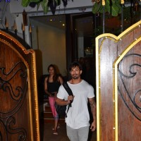 Spotted: Bipasha Basu and Karan Singh Grover leaving a Spa