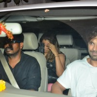 Spotted: Bipasha Basu Snapped leaving a Spa with his Boyfriend Karan Singh Grover
