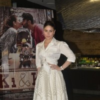 Kareena Kapoor at promotional event of Ki and Ka