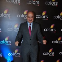 Anupam Kher at Colors TV's Red Carpet Event