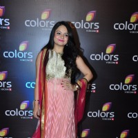 Giaa Manek at Colors TV's Red Carpet Event