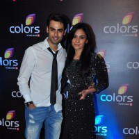 Varun Kapoor and Dhanya Mohan at Colors TV's Red Carpet Event