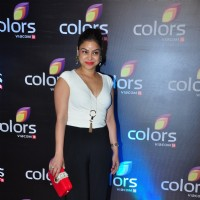 Sumona Chakravarti at Colors TV's Red Carpet Event