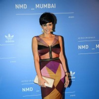 Mandira Bedi at Adidas Launch