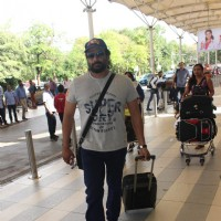 R. Madhavan Snapped at Airport