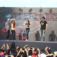 Kareena Kapoor and Arjun Kapoor and Tara Sharma at DNA CAN Women's Marathon