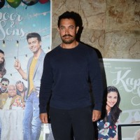 Aamir Khan at Special Screening of Kapoor & Sons