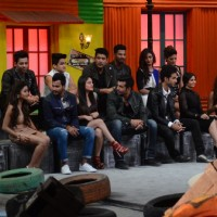 Kareena Kapoor and Arjun Kapoor on the sets of Khatron Ke Khiladi