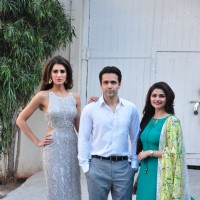 Emraan Hasmi, Nargis Fakhri and Prachi Desai at Azhar Film's Photo Shoot