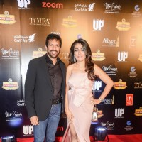 Kabir Khan and Mini Mathur at TOIFA 2016
