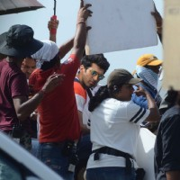 Shraddha Kapoor and Aditya Rao Kapoor On Location Shoot