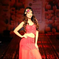 Preetika Rao Showstopper for Rina Dhaka at Bangalore Fashion Week