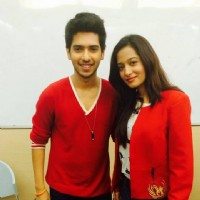 Preetika Rao with Armaan Mallik judging a singing competition