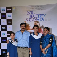 Press Meet of the film Nil Battey Sannata