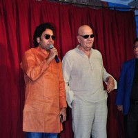 Actor Ashutosh Rana with Prem Chopra at Udanchoo Film Promotions