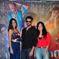 Bruna Abdullah, Rajnish Duggal and Saisha Sehgal at Udanchoo Film Promotions