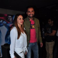 Abhay Deol and Esha Deol at Special Screening of Batman V Superman