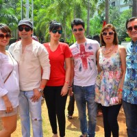 TV Celebs at Meet Bros Holi Celebrations