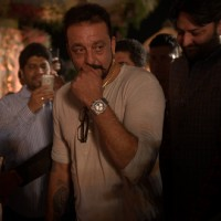 Sanjay Dutt at Wedding Reception of MLA Naseem Khan's son Aamir Khan