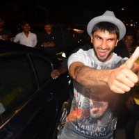 Ranveer Singh at Sanjay Leela Bhansali's Party for Winning National Award
