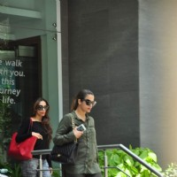 Malaika Arora Khan and Amrita Arora Visits Arpita Khan at Hinduja Hospital