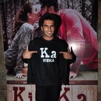 Ranveer Singh at Special Screening of 'Ki and Ka'