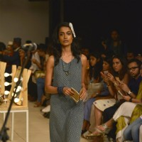 Sarah Jane Dias at Lakme Fashion Show 2016