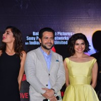 Emraan, Prachi and Lara are all smiles at Azhar Trailer Launch