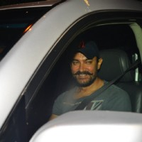 Aamir Khan at Aarti Shetty's Birthday Bash