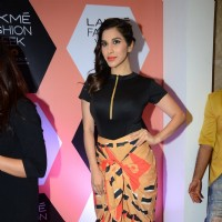 Sophie Choudry at Lakme Fashion Show 2016 - Day 4
