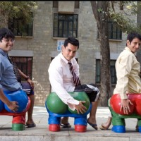Aamir Khan, R Madhavan and Sharman Joshi in the movie 3 Idiots | 3 Idiots Photo Gallery